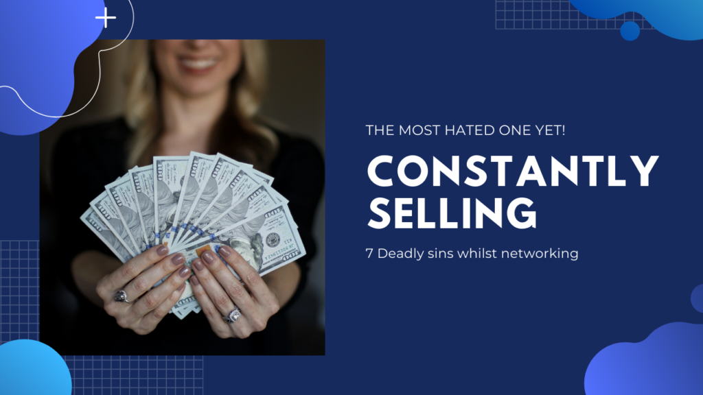 The impact of constantly selling