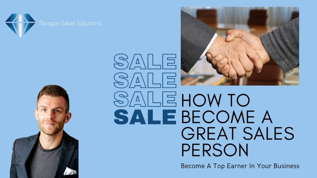 Become a great sales person
